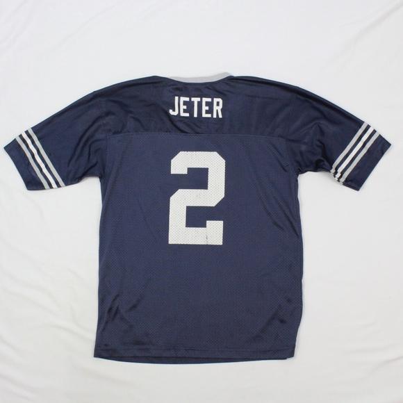 check out 8d7e6 3643c VTG Adidas Yankees Jersey VINTAGE Derek Jeter 2